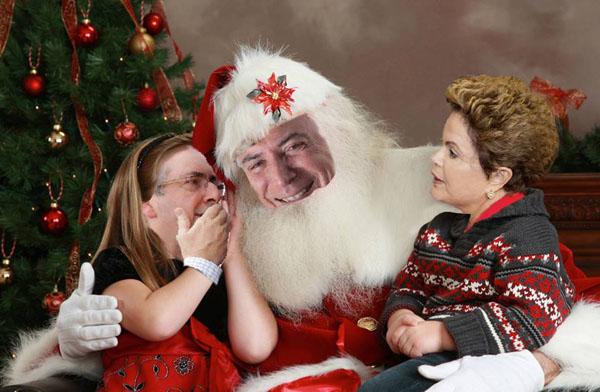 Secret Santa Gift from A New Best Friend, Michel Temer, President of Brazil!
